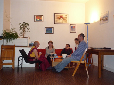 The community room in the Centre