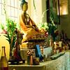 The shrine at Mahakankala Center