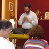 The Resident Teacher of Maitreya Centre leading prayers
