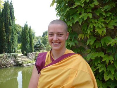 Kelsang Shri, the Resident Teacher of the Centre