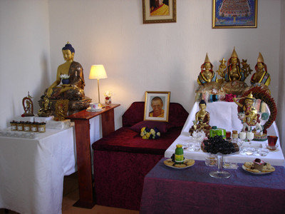 The meditation room