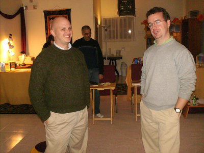 Sangha<br /> Enjoy some hang out time after class with spiritual friends.