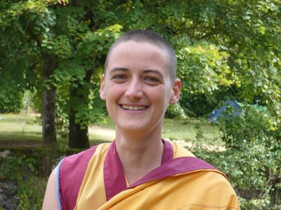 Kelsang Shetchok is the Resident Teacher of the Centre