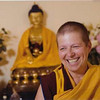 Resident Teacher Gen Kelsang Lingpur attended high school and college in Tucson and shares her love of Dharma with the Tucson community.