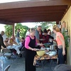 Good food accompanies special events at Tara Center. Mexican food, a local specialty, is a big favorite.