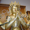 Avalokiteshvara makes our mind peaceful just by looking at him