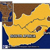 map of South Africa showing where Durban is