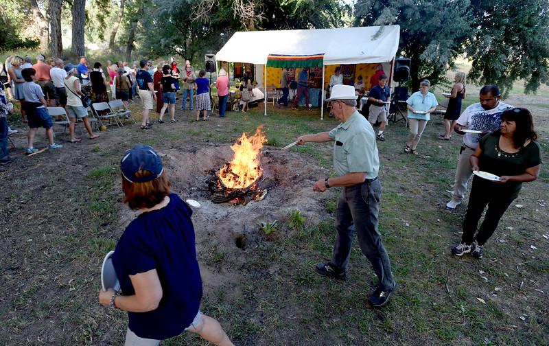Buddhist Fire Ceremony in Longmont