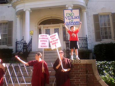 Burmese Protest in DC