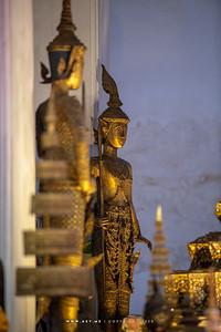 Lord Virupakka the guardian of the West, one of the Four Heavenly Kings, Minor Vihara, Wat Arun