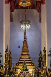Phra Chulamanee Chedi and the Four Heavenly Kings, Minor Vihara, Wat Arun