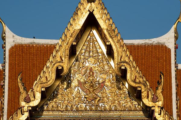 Narayana on Garuda, Phra Ubosot, Wat Benchamabophit