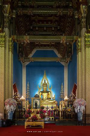 Phra Buddha Chinnarat (replica), Wat Benchamabophit