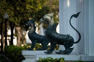Rajasiha (Mythical Lion-King), Phra Vihara Somdej, Wat Benchamabophit