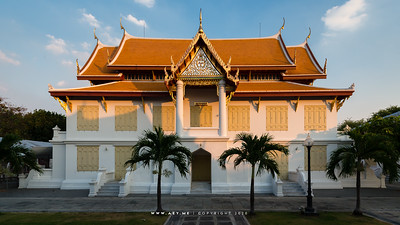 Song Tham Throne Hall, Wat Benchamabophit