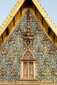 Narayana on Garuda, Phra Ubosot, Wat Chana Songkhram