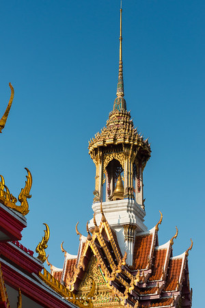 Bell Tower at Wat Chana Songkhram