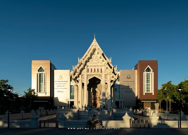 Phra Ubosot and Panyanundhanusorn, Wat Chol Prathan Rangsarit
