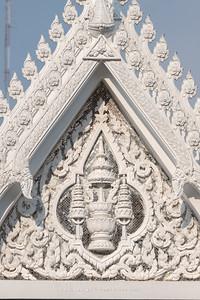 The Insignia of King Rama IV front gate, Wat Makut Kasatriyaram