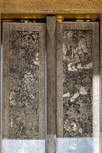 Mother of Pearl Inlay Door, Phra Ubosot, Wat Pho (Wat Phra Chetuphon)