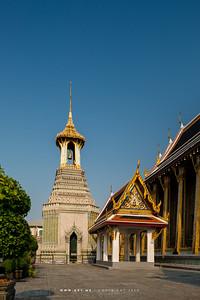 Belfry, Wat Phra Sri Rattana Satsadaram (Wat Phra Kaew), Grand Palace