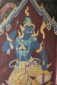 Mural Painting, Wat Phra Sri Rattana Satsadaram (Wat Phra Kaew), Grand Palace