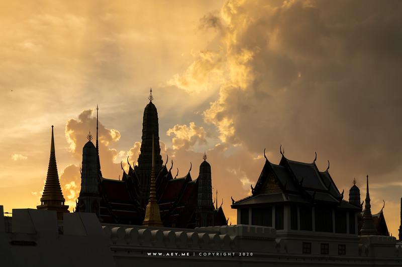 Prasat Phra Dhepbidorn, Wat Phra Kaew, Grand Palace
