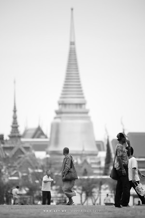 People at Sanam Luang