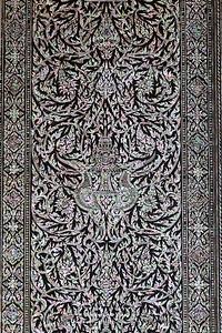 Mother of Pearl Inlay Door, Hor Phra Monthian Dharma, Wat Phra Sri Rattana Satsadaram (Wat Phra Kaew) Grand Palace