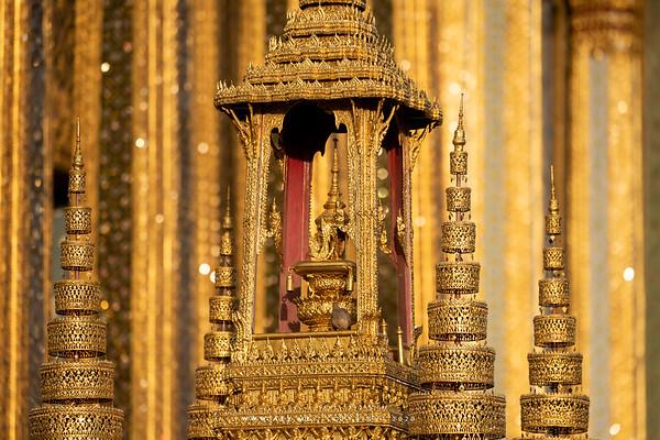 The Royal Emblem of King Rama IV in Phra Bussabok, Wat Phra Sri Rattana Satsadaram (Wat Phra Kaew), Grand Palace
