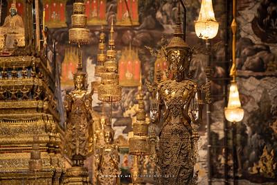 Phra Buddha Yodfa Chulalok (King Rama I), Crowned Standing Buddha, Wat Phra Sri Rattana Satsadaram (Wat Phra Kaew), Grand Palace