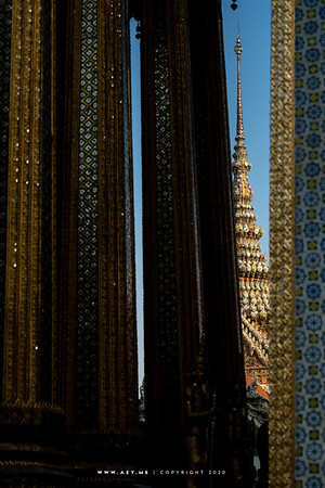 Phra Wiharn Yod, Wat Phra Kaew, Grand Palace