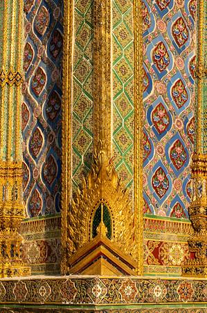 Prasat Phra Dhepbidorn (The Royal Pantheon), Wat Phra Sri Rattana Satsadaram (Wat Phra Kaew), Grand Palace