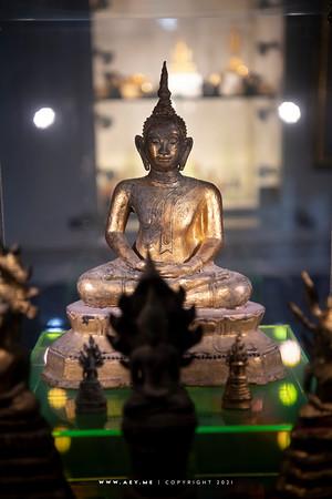 Prayoonbhandakharn the Buddha Images Museum, Wat Prayurawongsawas