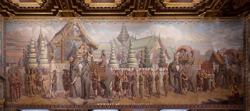 Phra Ubosot, Wat Rachathiwat