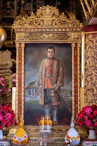 King Rama III, Phra Ubosot, Wat Ratcha Orasaram