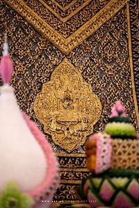 The Insignia of King Rama III, Phra Ubosot, Wat Ratcha Orasaram Ratchaworawihan