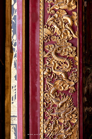 The window, Phra Ubosot, Wat Ratcha Orasaram