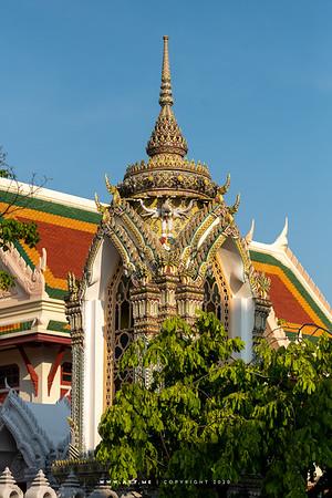 Drum Tower, Wat Ratchabophit