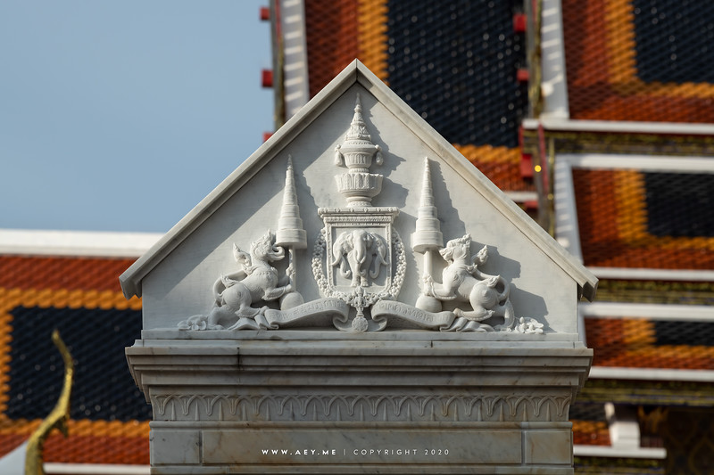 King Rama V Monument, Wat Ratchabophit