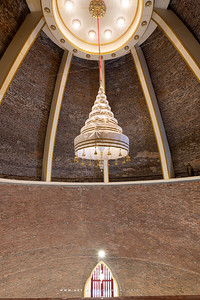 Nine-Tiered Great White Umbrella of State, The Interior of Phra Chedi, Wat Ratchabophit