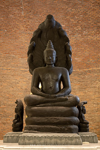 The Interior of Phra Chedi, Wat Ratchabophit