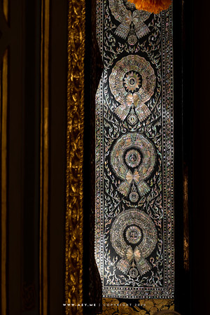 Mother of Pearl Inlay Windows, Phra Ubosot, Wat Ratchabophit