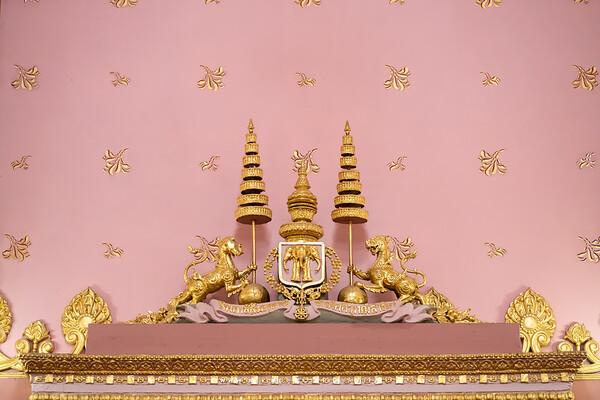 The Insignia of King Rama V, Phra Vihara, Wat Ratchabophit