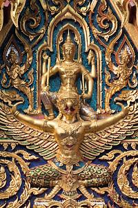 Narayana on Garuda, Wat Ratchaburana Ratchaworawihan (Wat Liap)