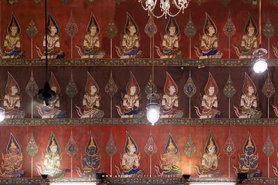 Mural Painting, Phra Ubosot, Wat Saket