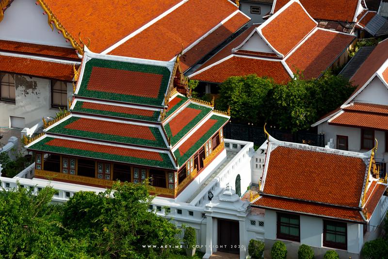 Tripitaka Hall, Wat Saket