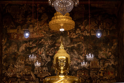 Phra Phuttha Tri Lokkachet, Phra Ubosot, Wat Suthat Thepwararam