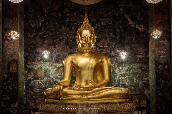 Phra Sri Sakyamuni, Phra Vihara Luang, Wat Suthat Thepwararam