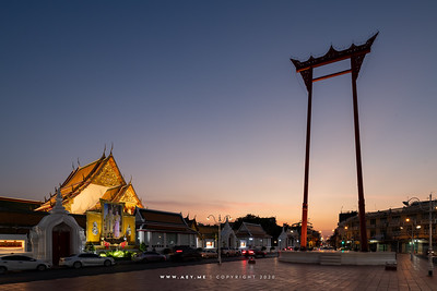 Wat Suthat Thepwararam & the Giant Swing